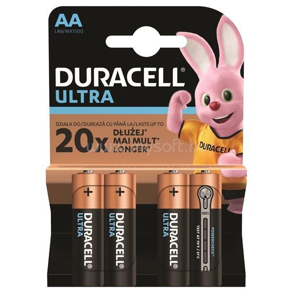DURACELL UltraPower 4 db AA elem