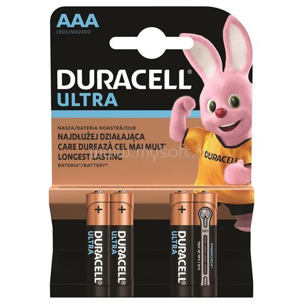 DURACELL UltraPower 4 db AAA elem