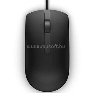 DELL Vezetékes egér, MS116 Optical Mouse - Black 570-AAIS large
