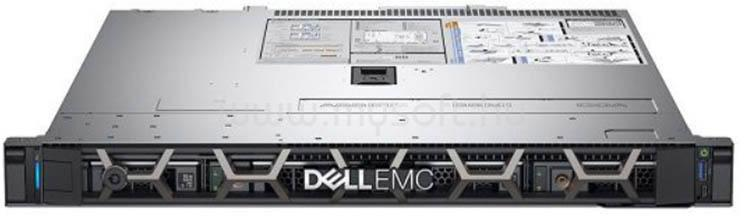 DELL PowerEdge R240 1U Rack H330 1x E-2244G 1x 450W iDRAC9 Basic 4x 3,5