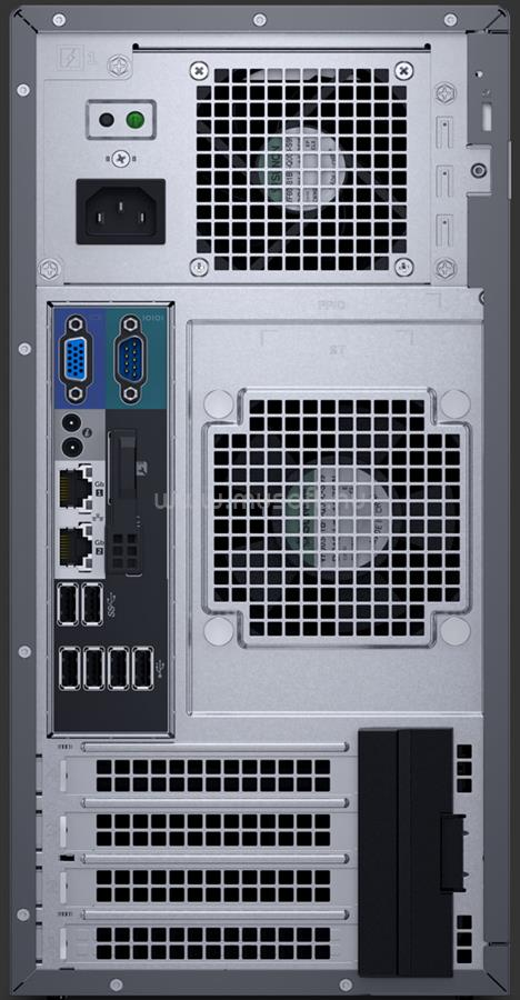 DELL PowerEdge T130 Tower H330 1x E3-1230v6 1x 290W iDRAC8 Basic 4x 3,5 PET130-1-1230V6-H330-4X35_16GBS250SSDH2X1TB_S large