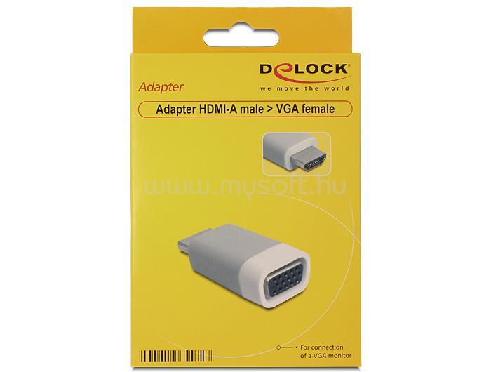 DELOCK Adapter HDMI-A male > VGA female