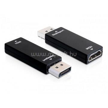 DELOCK Átalakító Displayport 1.1 male to HDMI female, fekete