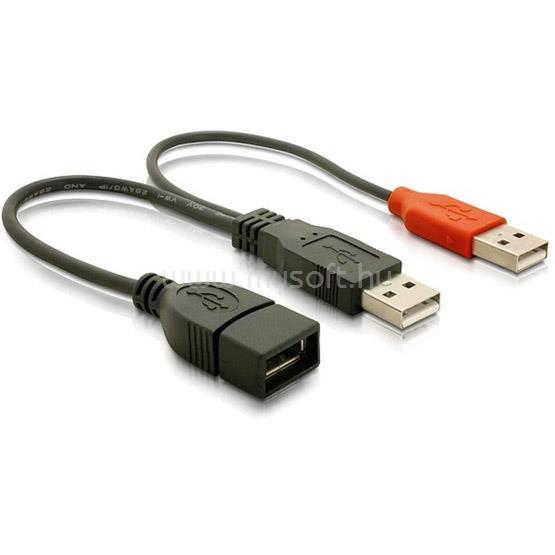DELOCK USB adat- és hálózati kábel