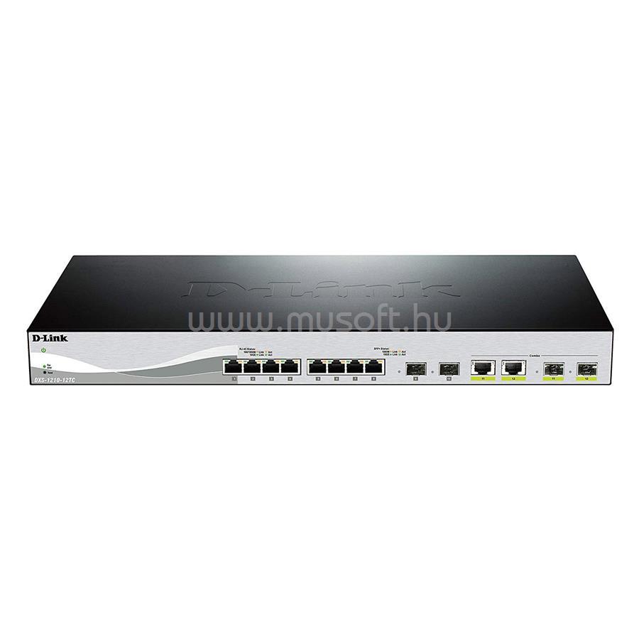 D-LINK DXS-1210-12TC 10 Gigabit Ethernet Smart Managed Switch