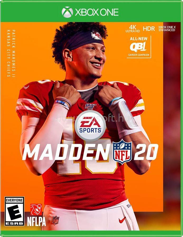ELECTRONIC ARTS Madden NFL 20 XBOX One játékszoftver