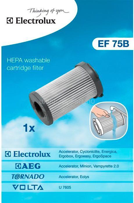 ELECTROLUX EF 75 B HEPA szűrő