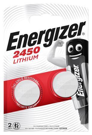 ENERGIZER CR2450 Gombelem líthium 2 db