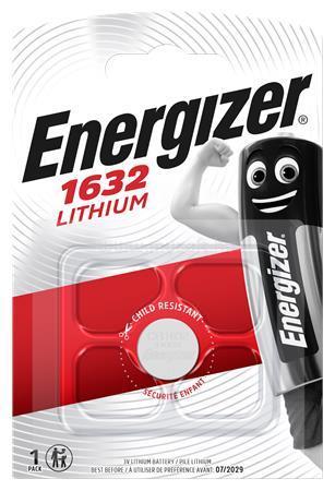 ENERGIZER CR1632 Gombelem lítium 1 db