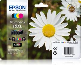 Epson Multipack 4-colours 18XL Claria Home Ink, C13T18164010