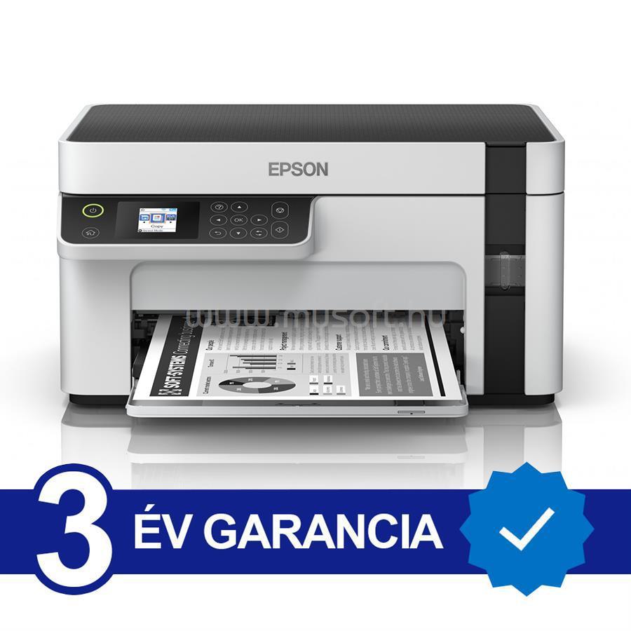 EPSON M2120 EcoTank külső tintatartályos nyomtató
