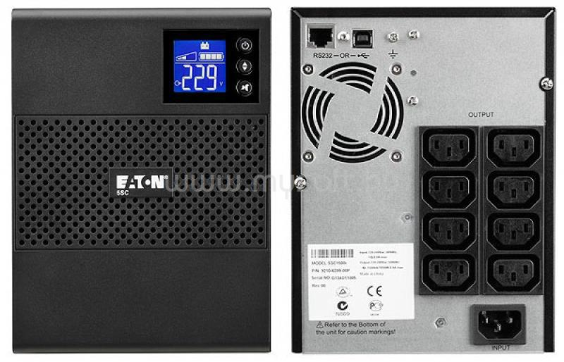 EATON UPS 500VA C13/C14 5SC Vonali-interaktív