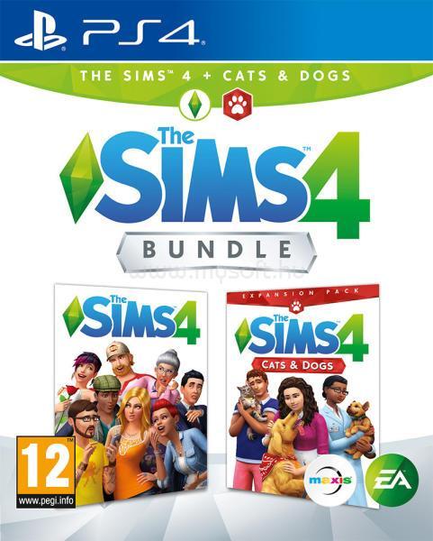 ELECTRONIC ARTS The Sims 4 + Cats & Dogs Bundle PS4 játékszoftver