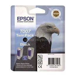 Epson Patron T007 Fekete Twin Pack, C13T00740210