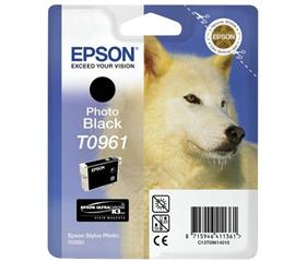 Epson Patron T0961 Ultra Chrome Photo Fekete, C13T09614010