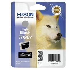 Epson Patron T0967 Ultra Chrome Light Fekete, C13T09674010
