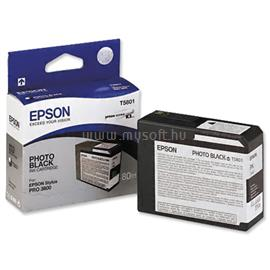 Epson Patron T5801 Photo Fekete, C13T580100