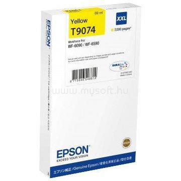 EPSON Patron T9074 Sárga XXL (7 000 oldal)