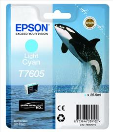 Epson Patron Ultra Chrome T7605 Light Cián, C13T76054010