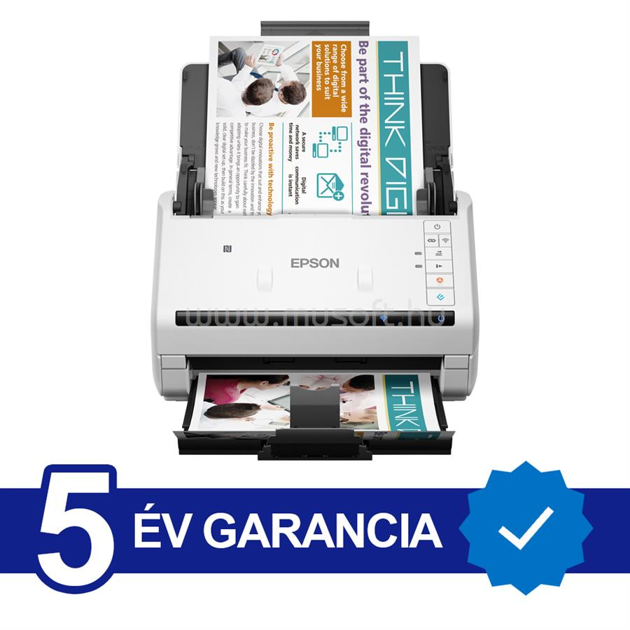 EPSON WorkForce DS-570W A4 lapáthúzós dokumentumszkenner