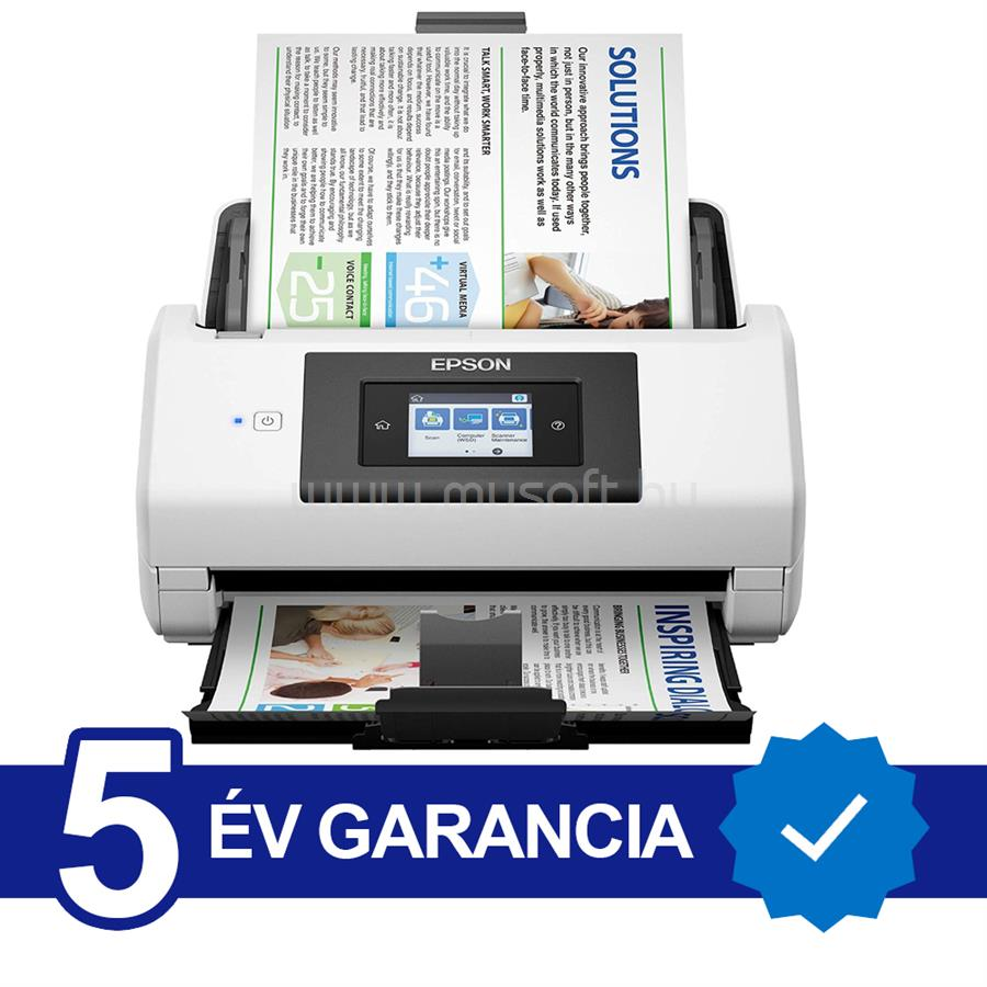 EPSON WorkForce DS-780N Lapáthúzós Szkenner