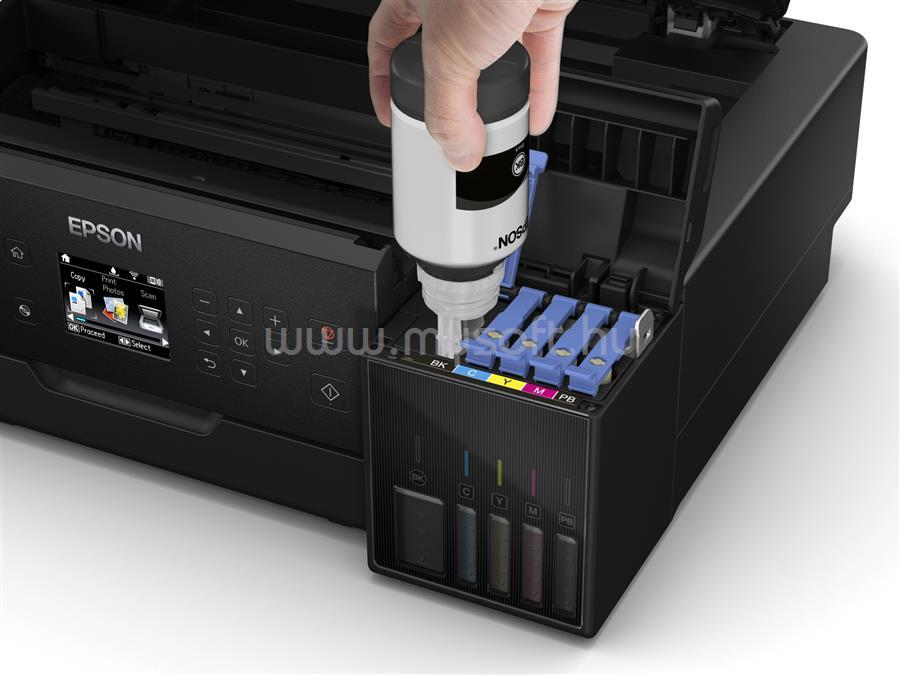 EPSON L7160 EcoTank külső tintatartályos nyomtató C11CG15402 large