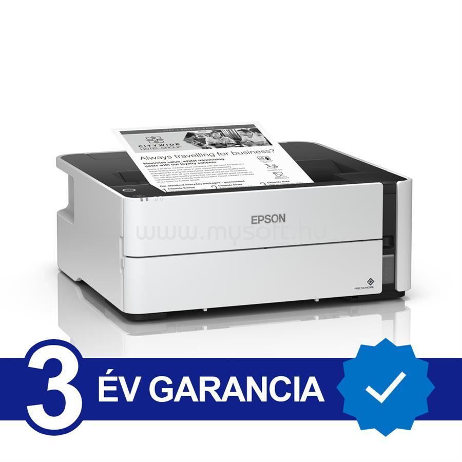 EPSON M1140 EcoTank külső tintatartályos nyomtató C11CG26403 large