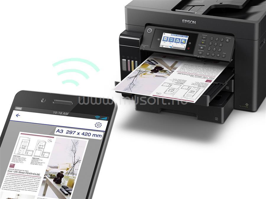 EPSON L15150 EcoTank külső tintatartályos nyomtató C11CH72402 large