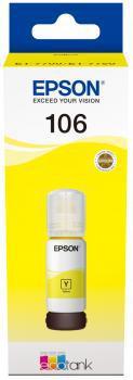 EPSON EcoTank 106 Tinta 70 ml (Sárga)