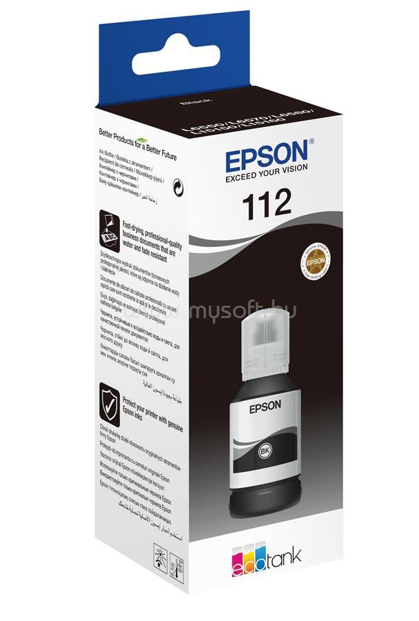 EPSON 112 T06C1 127ml Tinta (fekete)