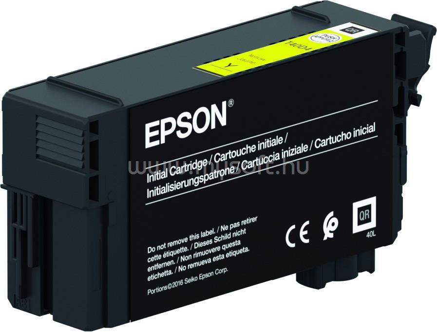 EPSON T40C1 Patron 26ml (sárga)
