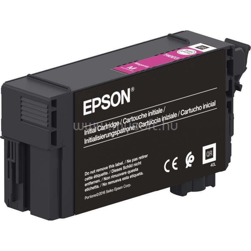 EPSON T40D3 UltraChrome XD2 Patron 50ml (bíbor)