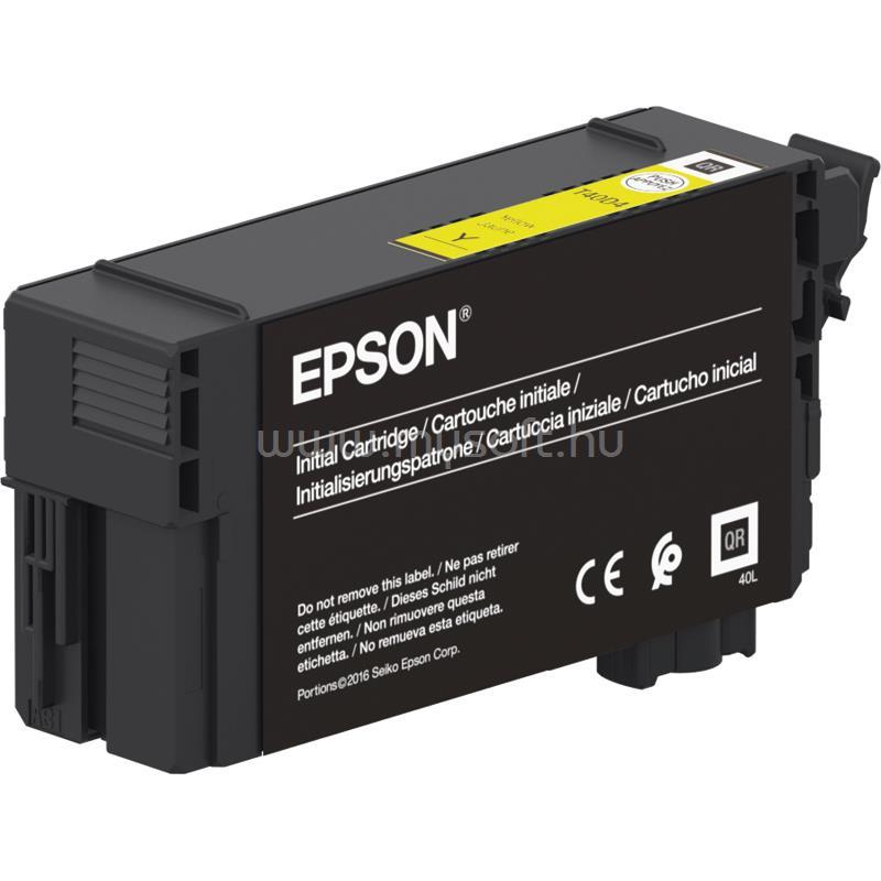 EPSON T40D4 UltraChrome XD2 Patron 50ml (sárga)