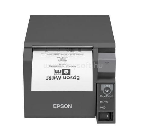 EPSON TM-T70II (032) SERIAL + USB port (szürke)