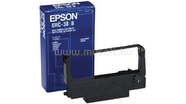 EPSON ERC-38B mátrix festékszalag blokknyomtatóhoz, fekete