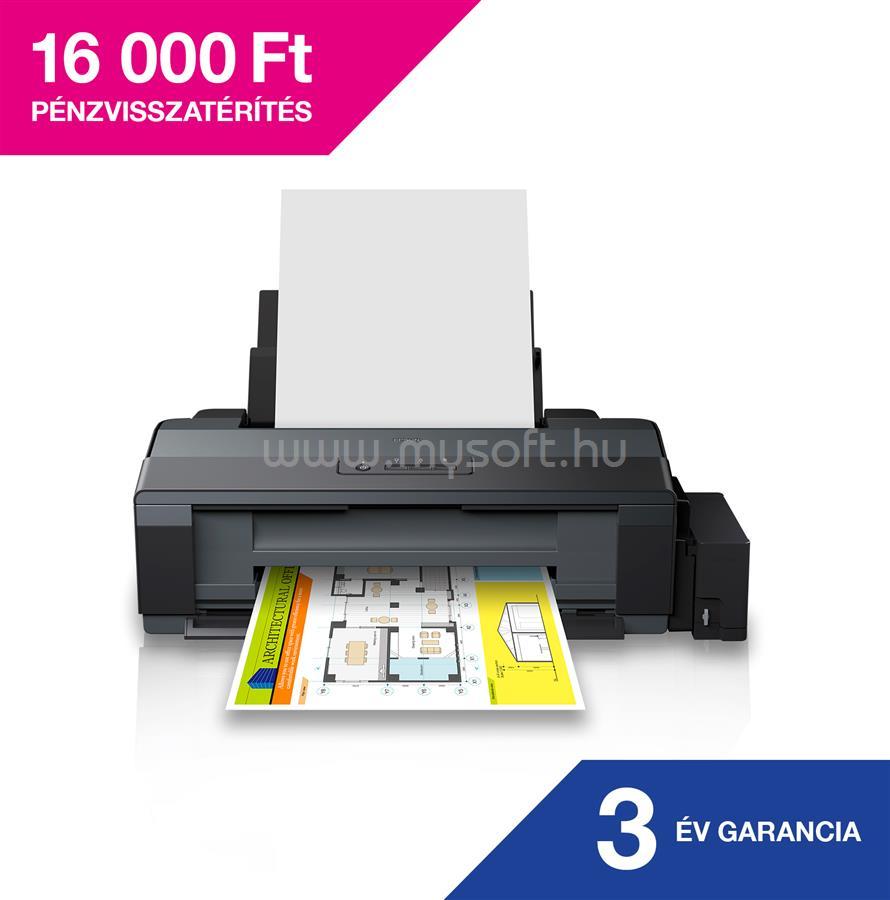 EPSON EcoTank L1300 külső tintatartályos A3 színes fotónyomtató
