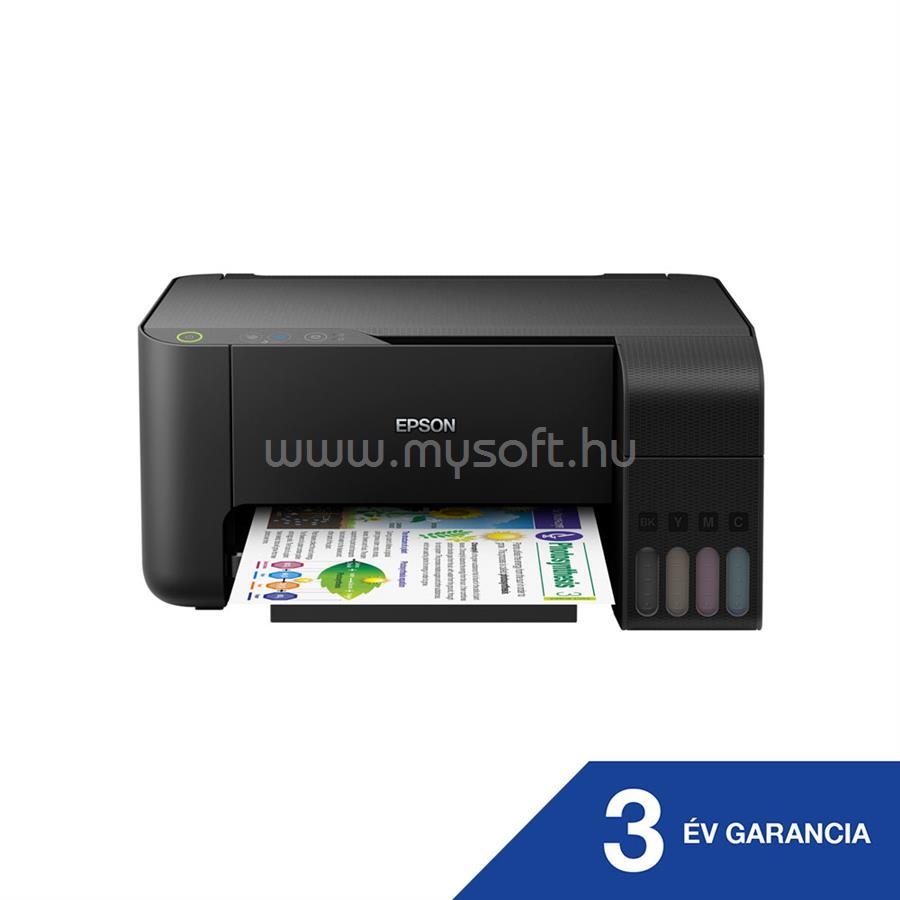 EPSON EcoTank L3110 külső tintatartályos színes multifunkciós tintasugaras nyomtató C11CG87401 large