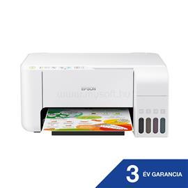 EPSON EcoTank L3156 külső tintatartályos színes multifunkciós tintasugaras nyomtató C11CG86413 small