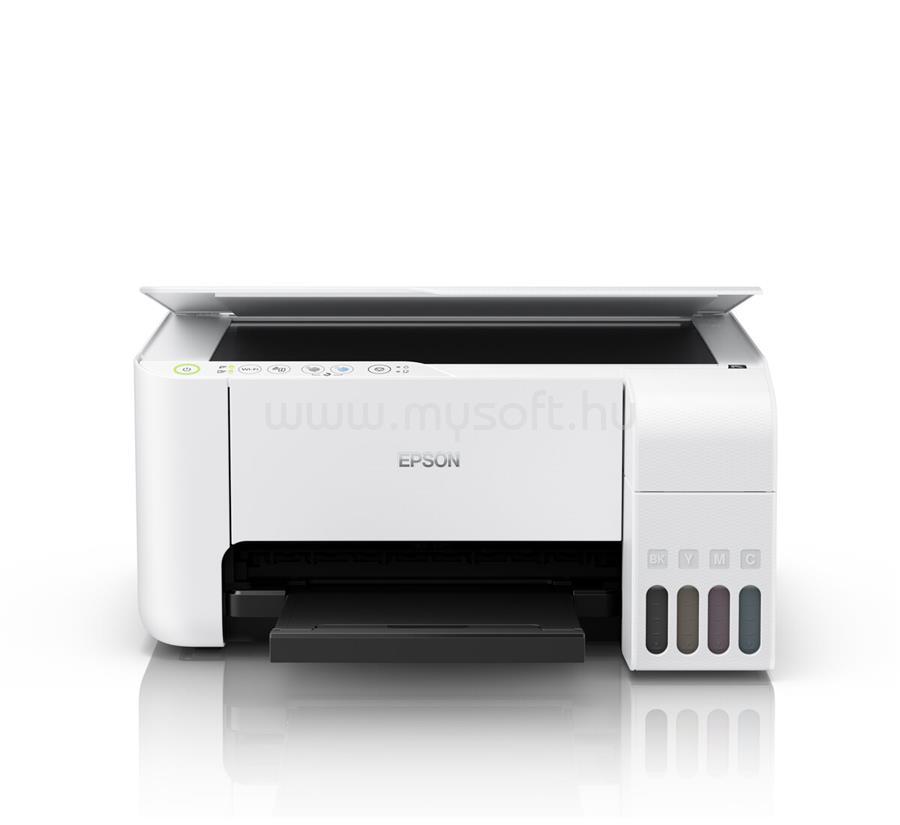 EPSON EcoTank L3156 külső tintatartályos színes multifunkciós tintasugaras nyomtató C11CG86413 large