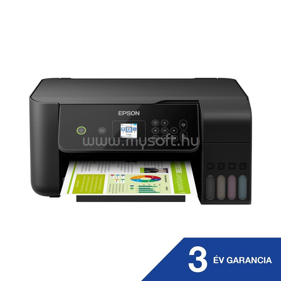 EPSON EcoTank L3160 külső tintatartályos színes multifunkciós tintasugaras nyomtató