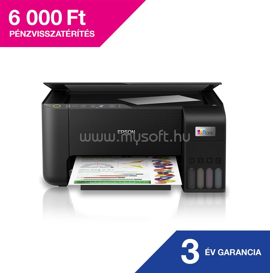 EPSON EcoTank L3250 külső tintatartályos nyomtató