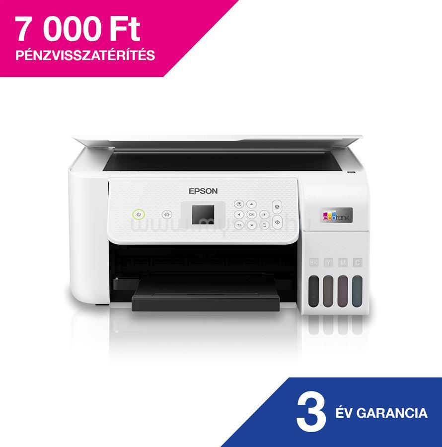 EPSON EcoTank L3266 külső tintatartályos nyomtató
