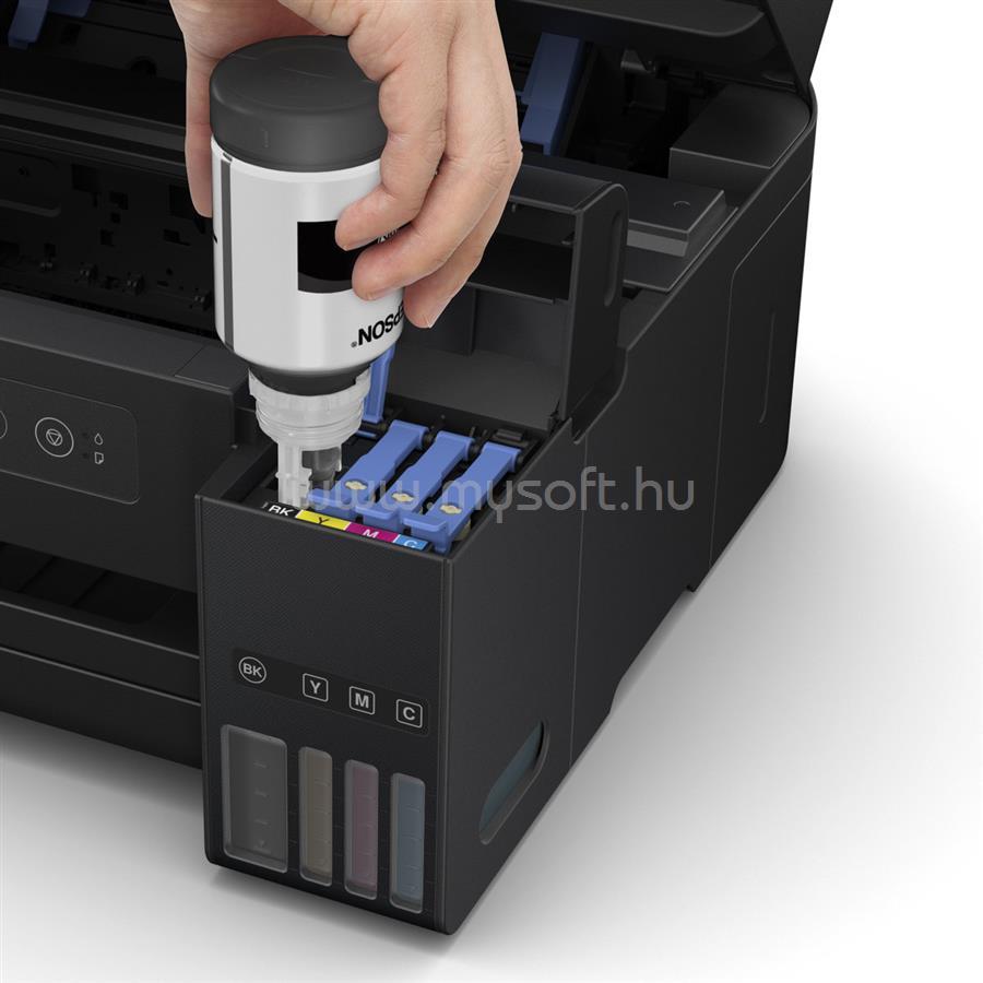 EPSON EcoTank L4150 külső tintatartályos színes multifunkciós tintasugaras nyomtató C11CG25401 large