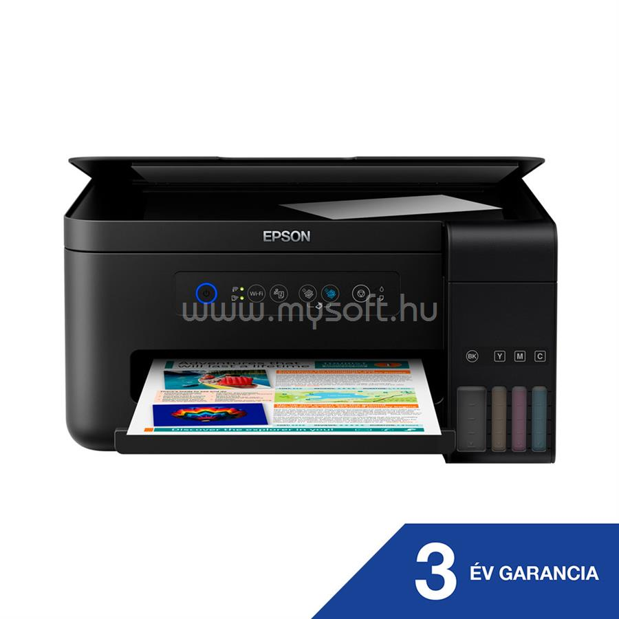 EPSON EcoTank L4150 külső tintatartályos színes multifunkciós tintasugaras nyomtató