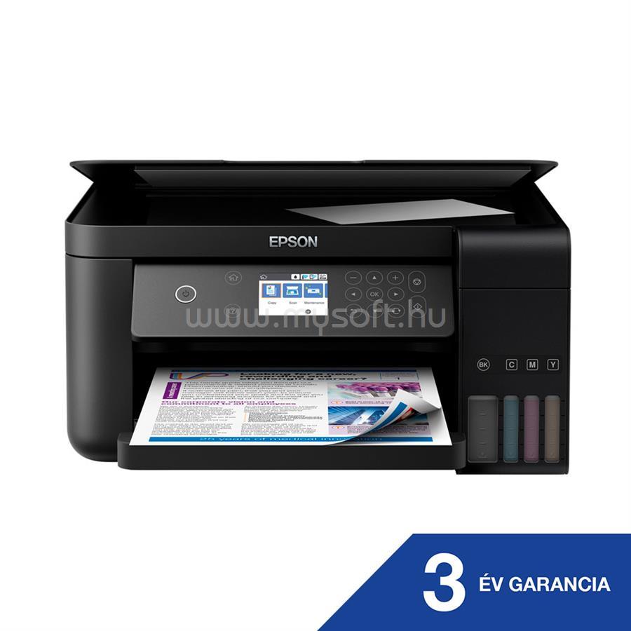 EPSON EcoTank L6160 külső tintatartályos színes multifunkciós tintasugaras nyomtató