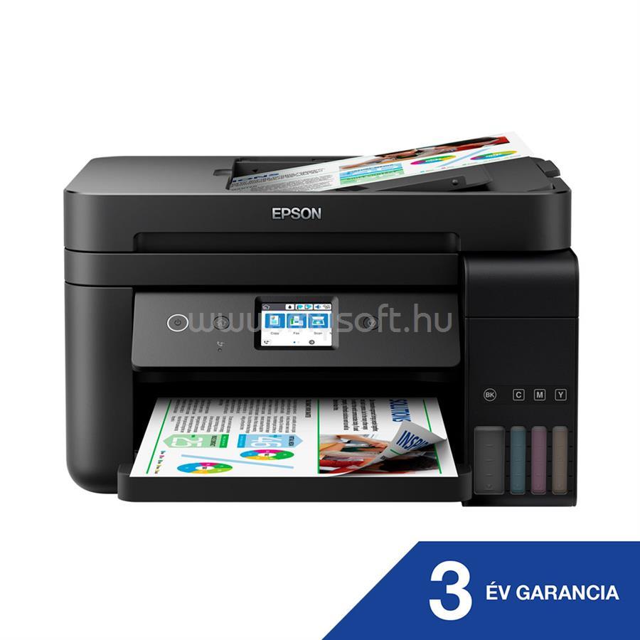 EPSON EcoTank L6190 külső tintatartályos színes multifunkciós tintasugaras nyomtató