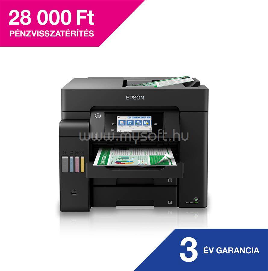 EPSON EcoTank L6550 külső tintatartályos nyomtató