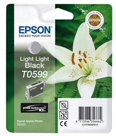 Epson Ink Catridge T0599 Light Light Black, C13T05994010