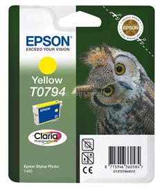 Epson Ink Catridge T0794 Yellow, C13T07944010