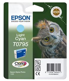 Epson Ink Catridge T0795 Light Cyan, C13T07954010